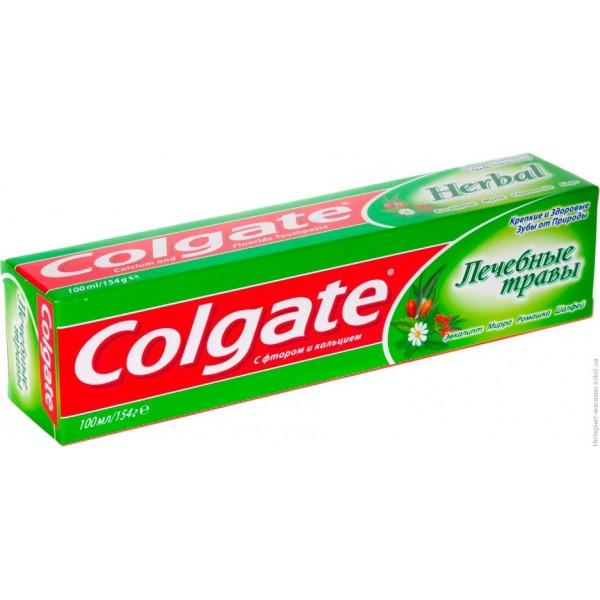 Зубная паста  Колгейт 100мл Лечебные травы ромашка (48) 9281
