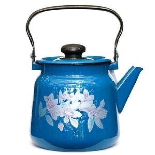 Чайник 2,3л васильковый с дек с пм/кноп (н/к)