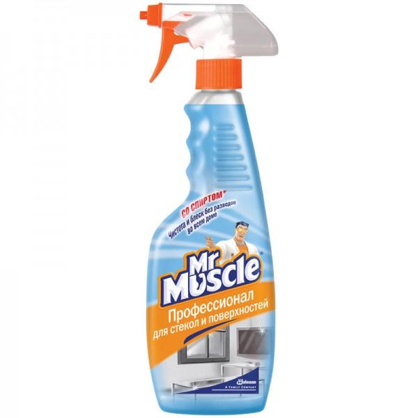 Средство для мытья стекол Mr.Muscle