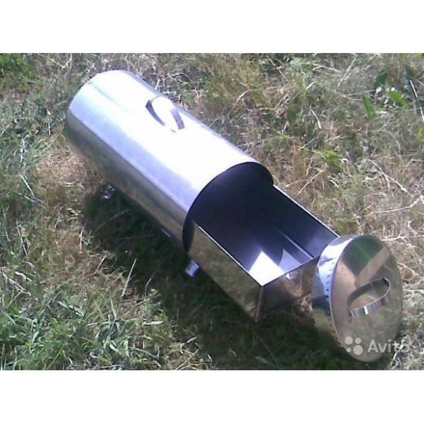Жаровня-труба (Торпеда) нерж. 1,5мм 500*240*230мм