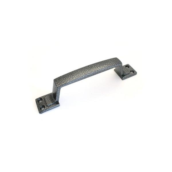 Ручка-скоба РС-100.01 (серебро) Зенит*20