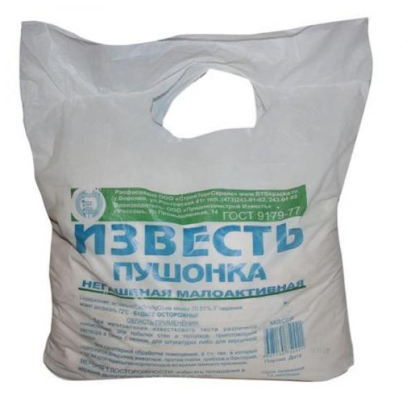"""Известь садовая """"Пушонка"""" 3кг"""