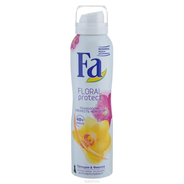 Дезодорант Fa цветов вишни,орхидея и фиалка 150мл