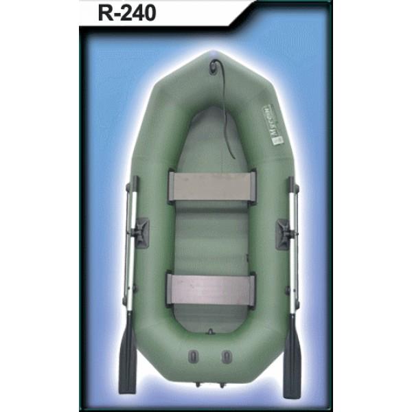 Лодка ПВХ R-240 с веслами