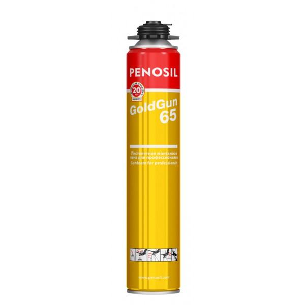 Пена монтажная PENOSIL GOLD GUN 65 PRO t°–18°C до +30° зимняя 875мл
