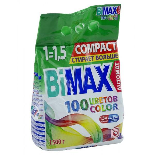 Порошок стир. BiMAX Автомат Сила цвета 1,5кг