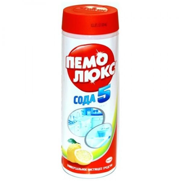 ПемоЛюкс сода5 Лимон 480гр