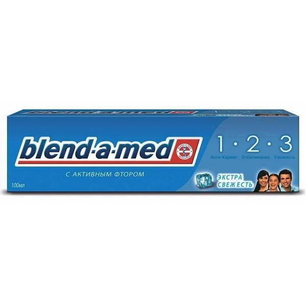 Зубная паста  blend-a-med 100мл мяткая,экстра свежесть