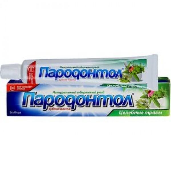 Зубная паста Пародонтол Целебные травы 63гр
