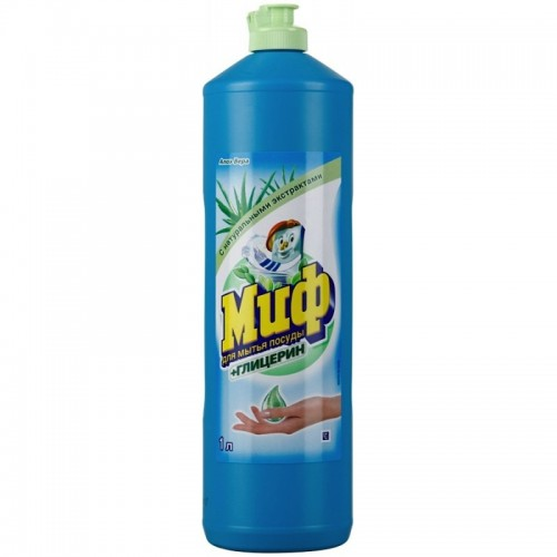 Моющее средство для посуды Миф глицерин,лимон 1л