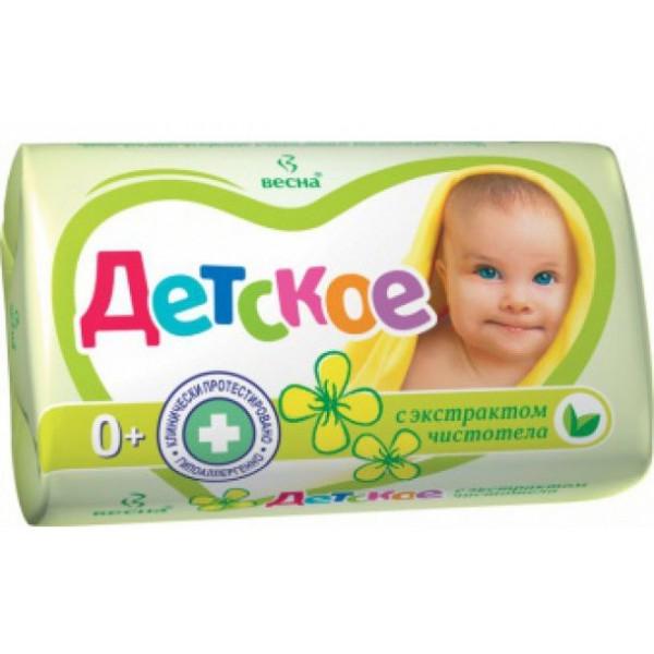 Крем-мыло Детское 90гр в ассорт