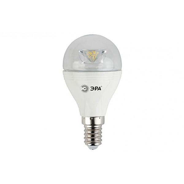 Лампочка светодиодная ЭРА LED smd P45-7w-840-E14 2700к(холодн.)