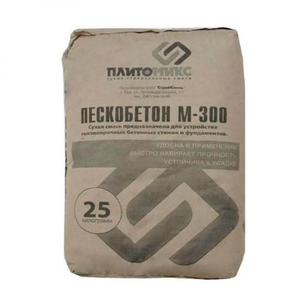 Пескобетон М-300  25кг УСМ