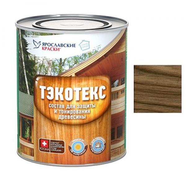 Состав ТЭКОТЭКС для защиты и тонирования древесины  золотой дуб 0,6л