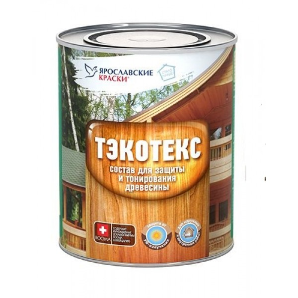 Состав ТЭКОТЭКС для защиты и тонирования древесины  сосна 0,6л