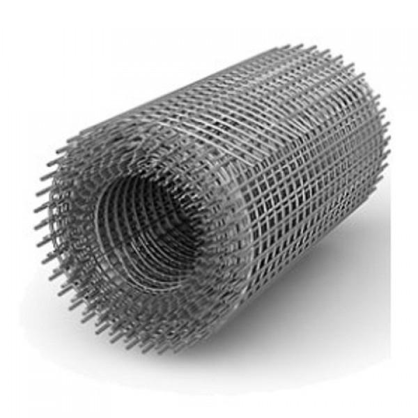 Сетка сварная 25х50мм 1метр (1.8мм) черн