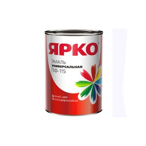 Эмаль ЯРКО ПФ-115 Быстро эмаль оранжевая, банка 1,0 кг