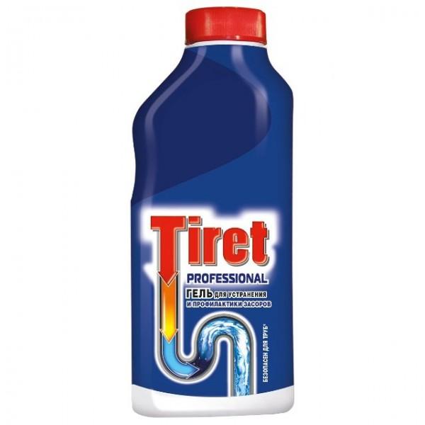 Гель для чистки труб Tiret 500мл