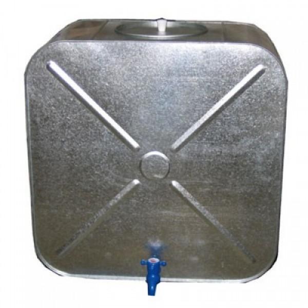 Бак оцинк. 100л. с краном (квадрат-овал)