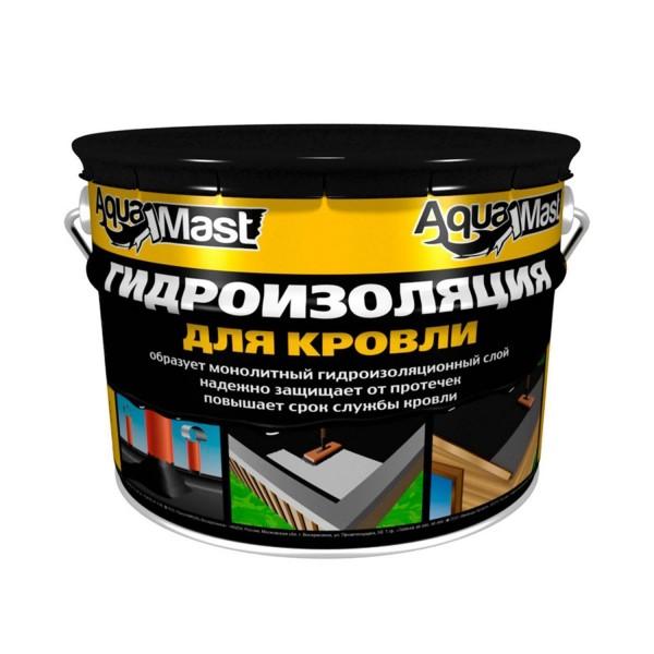 Мастика битумно-резиновая  AquaMast 3кг КРОВЛЯ
