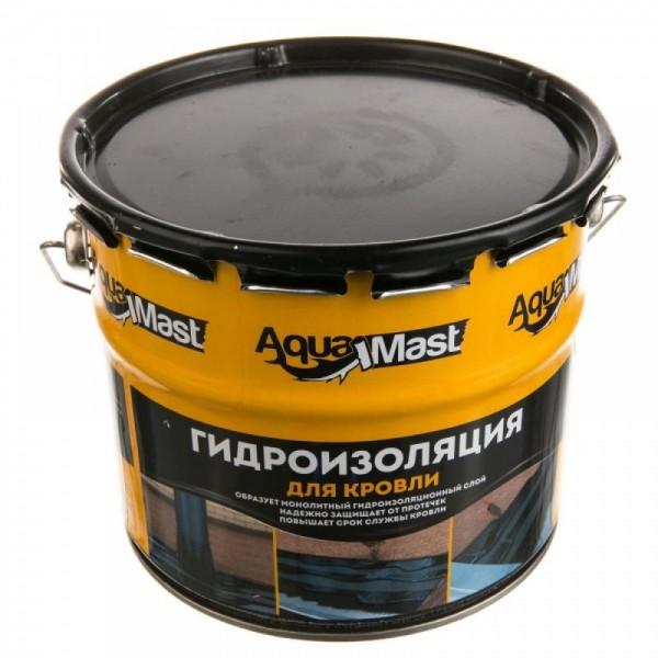 Мастика битумно-резиновая  AquaMast 10кг КРОВЛЯ