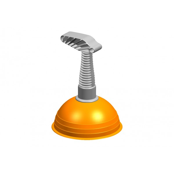 Вантуз (оранжевый, черный) SVIP