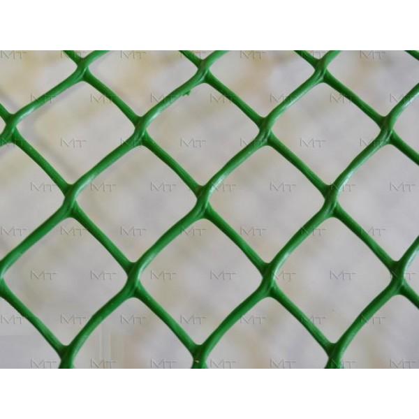 Решетка садовая 55х55мм (1,5мх20м) РОМБ зеленая