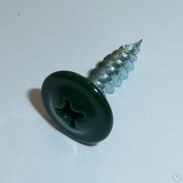 Саморез прессшайба острые 4,2/25 RAL-6005 Зелёный мох