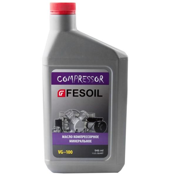 Масло FESOIL Компрессорное минеральное 946мл