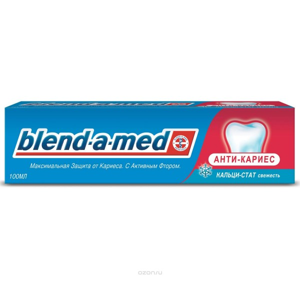 Зубная паста  blend-a-med 100мл АНТИ-КАРИЕС Свежесть