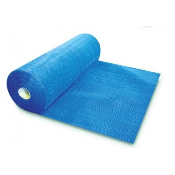 Сетка строит.фасадная Superfiber  (40м) 160г/кв.м.,ячейка 5х5мм синяя/желтая     /1