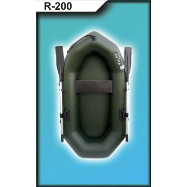 Лодка ПВХ R-200V с веслами