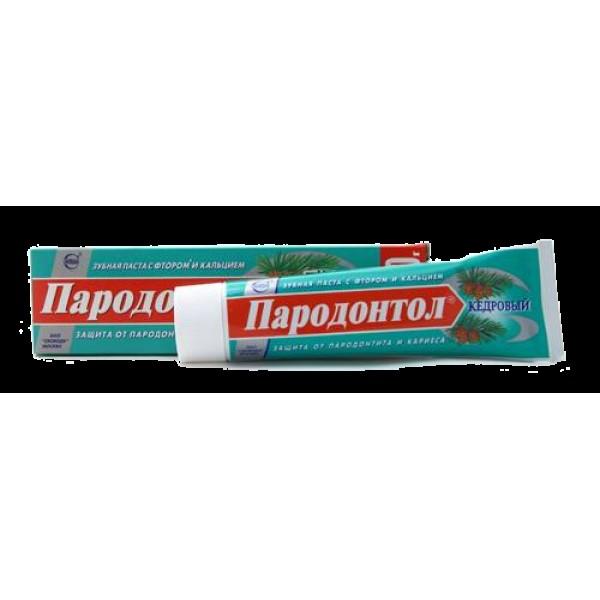 Зубная паста Парадонтол Кедровый 124г