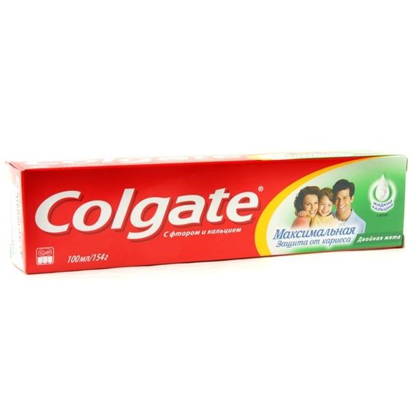 Зубная паста Colgate 100мл двойная мята