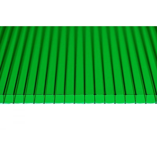Поликарбонат зеленый 6000х2100 4мм