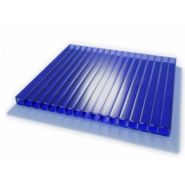 Поликарбонат синий 6000х2100 4мм