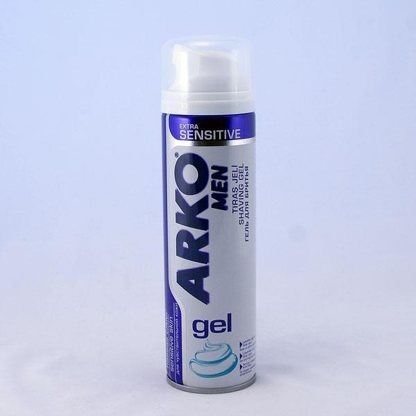 Гель для бритья Арко 200мл Экстра Сенситив