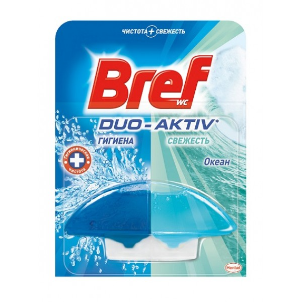 BREFF Дуо-Актив Блок туалетный жидкий Океан 60мл запасной блок