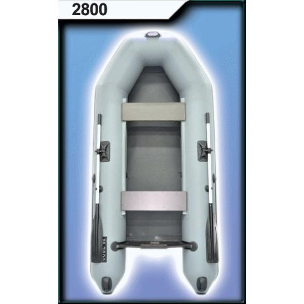 Лодка ПВХ 2800 с веслами