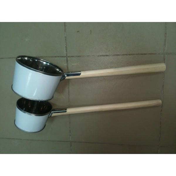 Ковш для бани средний 700 грамм нержавейка