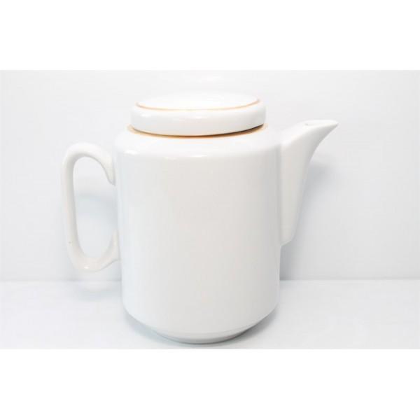 Чайник 500 мл Комфорт белый с отв.золотом