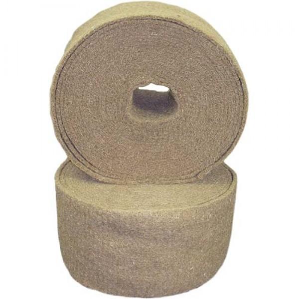 Лента джутовая (пакля) д/прокладки м/у бревен 0,5*200*20м