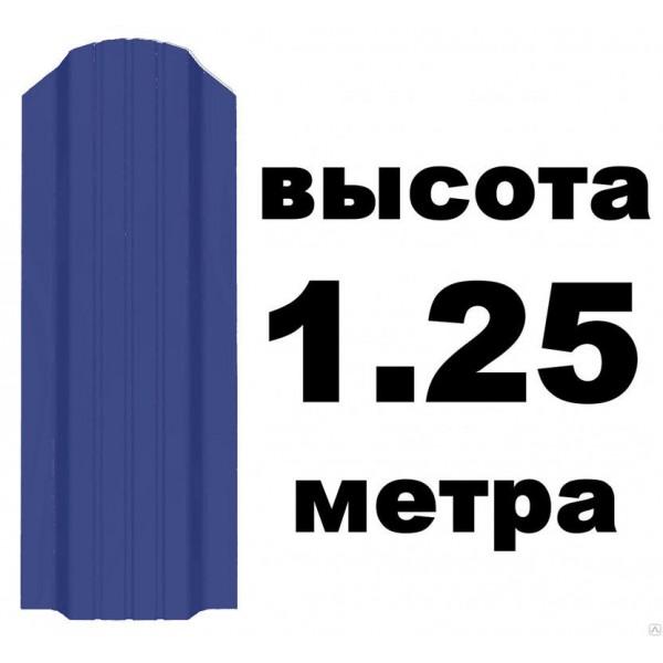 Евроштакетник 5002 Ультрамарин 10см (1,25м)