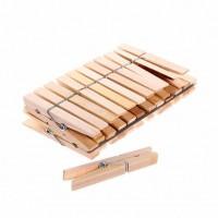 Прищепки деревянные 24шт