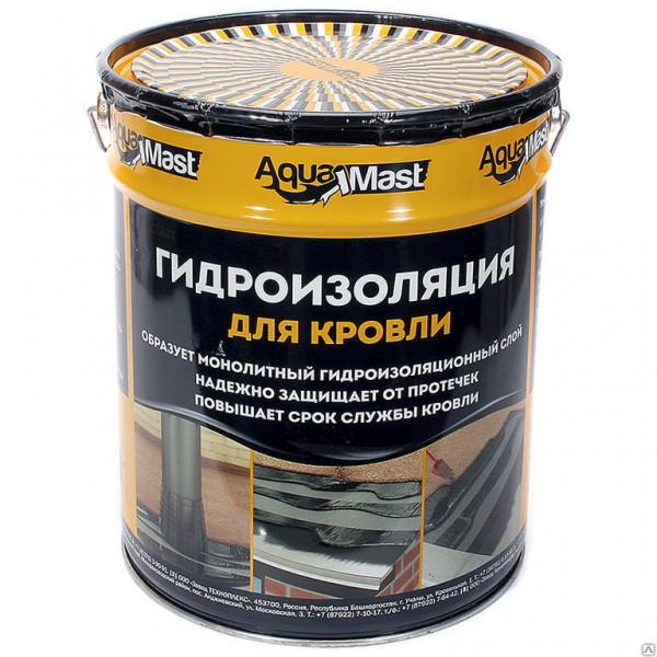 Мастика битумно-резиновая  AquaMast 18кг КРОВЛЯ