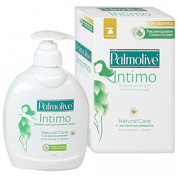 Интимное мыло Палмолив 300мл с экстрактом ромашки