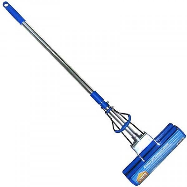 Швабра VETTA  Z230PDF-A  2ряд роликов пластик. основание, телеск ручка 84-105см