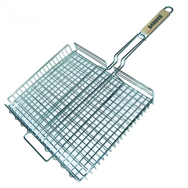 Решетка для барбекю средняя плоская 260х350 вес 580гр 1/24