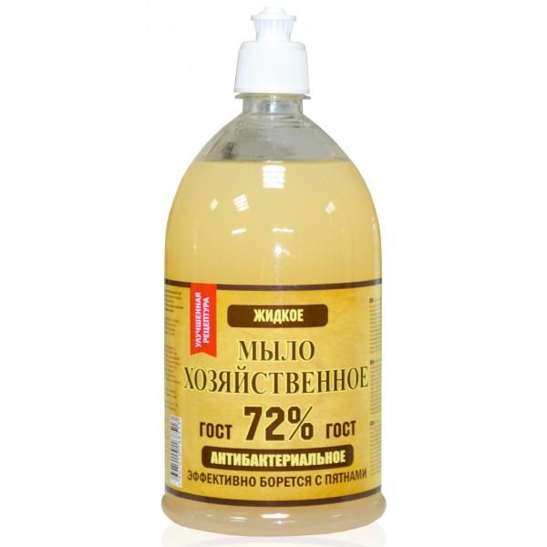 Жидкое хозяйственное мыло 72% 1л