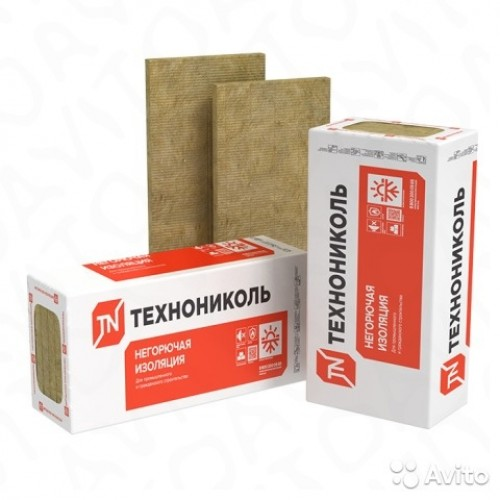 ТЕХНОФАС ЭФФЕКТ 135 1200*600*50мм (6шт 4,32м2 0,216м3)